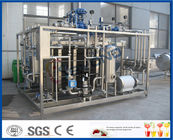 3 Section Milk Pasteurization Equipment with PLC Touch Screen PID Control
