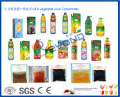 High Speed Juice Manufacturing Machines , Full Automatic Fruit Juice Extraction Pineapple Juice Plant