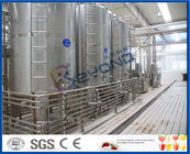 High Automatic Dairy Plant Project Milk Processing Equipments With SUS304 Stainless Steel
