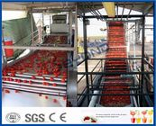 Tomato Sauce Making Machine Tomato Paste Production Line With Hot / Cold Break System