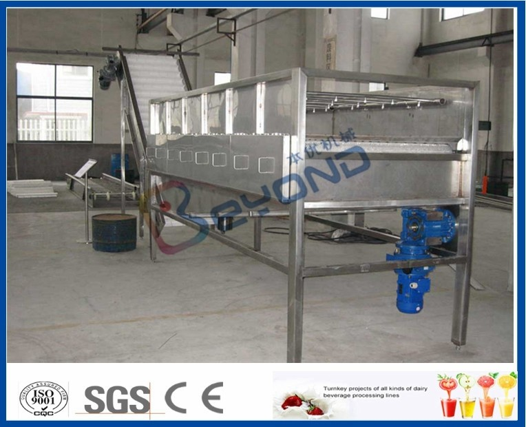 SUS304 Stainless Steel Fruit Processing Equipment For Cleaning Fruits And Vegetables