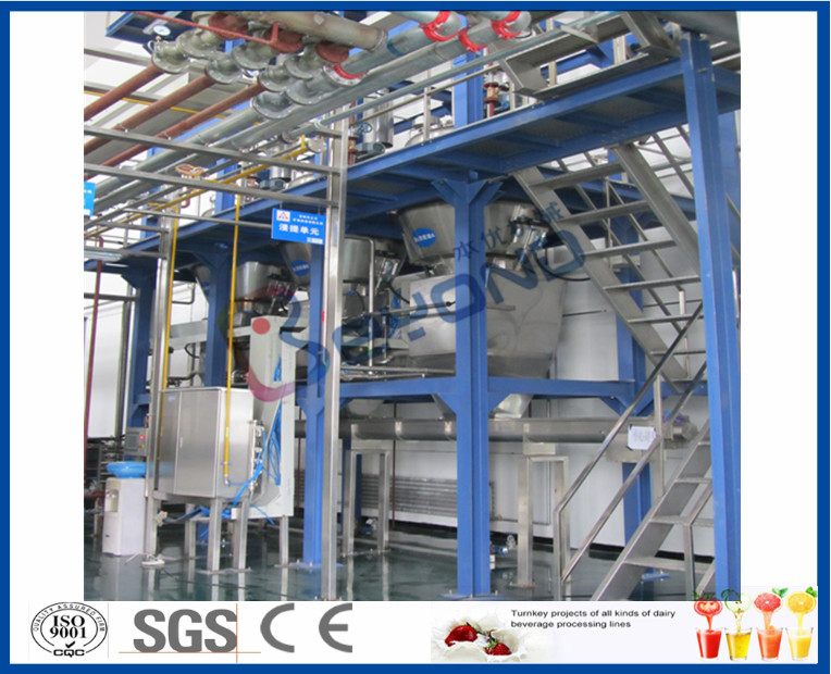 Fruit Juice Flavor Carbonated Soft Drink Plant With Pet Bottle Soda Filling Machine