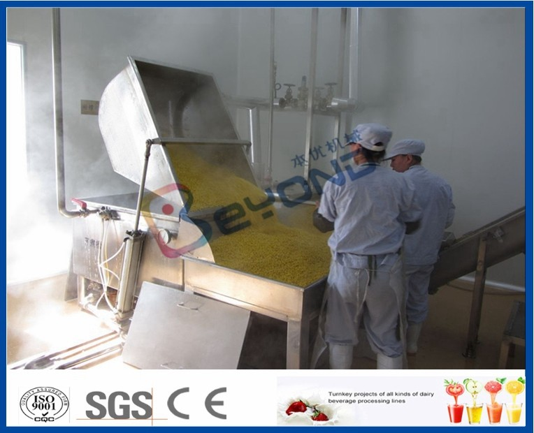 Milk Pasteurization UHT Milk Processing Line For Uht Milk Production Process