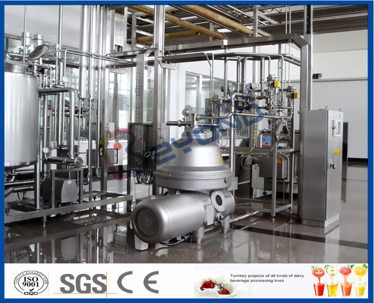 Industrial Butter Churning Machine / Butter Packaging Machine For Butter Equipment