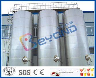Grande attrezzatura lattiero-casearia all'aperto dall'acciaio inossidabile dei serbatoi dell'acciaio inossidabile/SUS304 SUS316