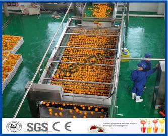 linea di trasformazione arancio dell'estratto automatico del succo d'arancia 10TPH per succo che fa fabbrica