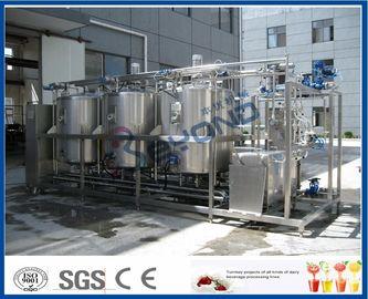 1000L - 10000L che pulisce sistema sul posto, industria lattiera dei sistemi di Cip con 4 doppi circuiti del carro armato