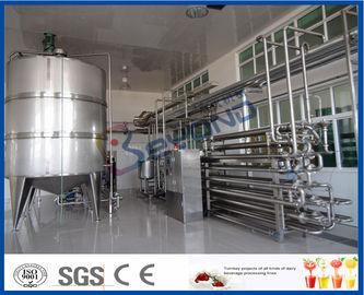 Attrezzatura asettica di pastorizzazione del latte di procedura per la pianta di trattamento del latte